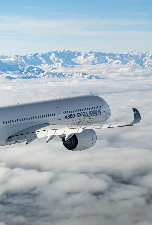Vignette Airbus A350 1000 Vol Montagnes