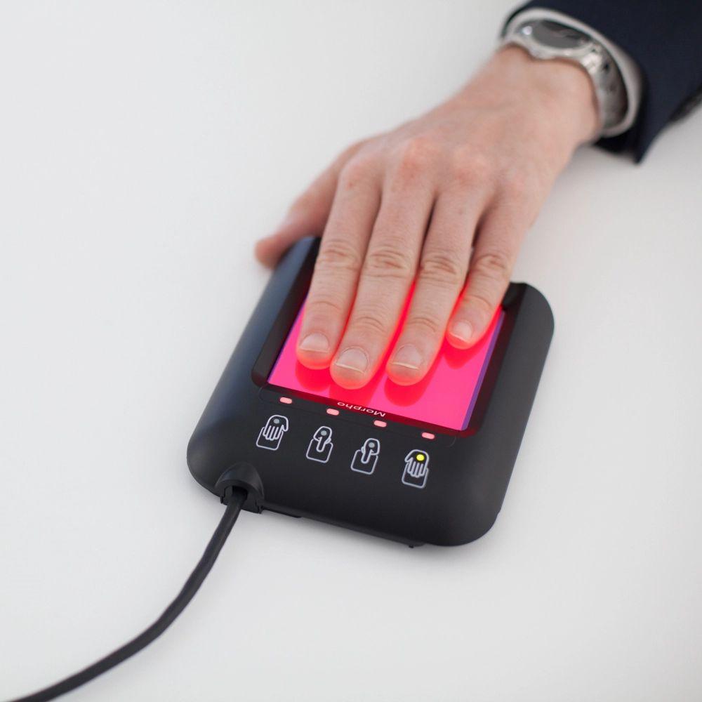 morphotop lecteur empreintes digitales